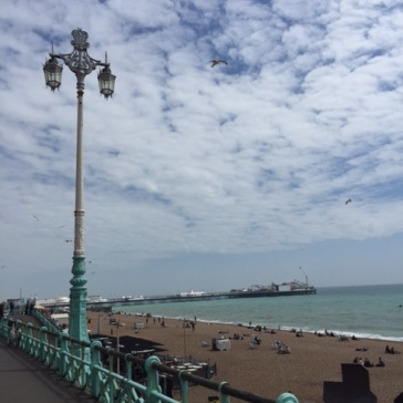 B-pier:beach