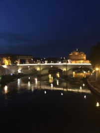 Roma at night